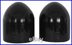 Rockville DMAC80B Dual 7.7 Black Aluminum Wakeboard Tower Speaker Enclosure