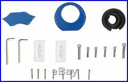 Rockville DMAC80-BLUE Dual 7.7 Black Aluminum Wakeboard Tower Speaker Enclosur
