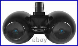 Rockville DWB80B Dual 8 Black 800 Watt Marine Wakeboard Tower Speaker System