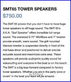 Samson Wakeboard Tower Speakers (2)