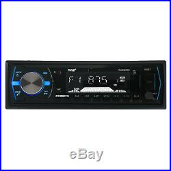 Silver 8 600W Wake Board Tower Speaker Sets, USB Bluetooth Radio, Antenna