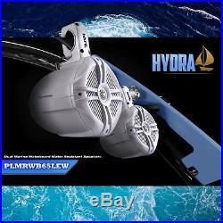 Sound Around PLMRWB65LEW Pyle 6.5 Hydra Wakeboard Tower Speaker, Set of 1