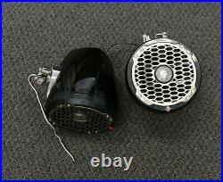 Used Rockford Fosgate Pm2652w-mb 6.5 Mini Wakeboard Tower Speakers (black)