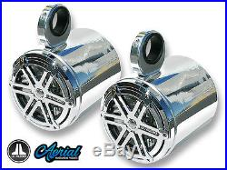 Wakeboard Tower Speakers Jl Audio 7.7 Boat Sport Grille Chrome Grills Sharp