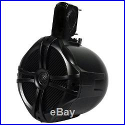 Wakeboard Tower Speakers 250W 6.5inch 2-Way Black NEW Quality Pair 4 Ohms