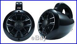 Wakeboard Two Way Marine waterproof Tower speakers for Utv Rzr Atv Golf Cart