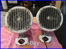 Wakeboard tower speakers. Pair of Rockford Fosgate 8 inch speakers