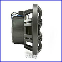 Wakeboarding Tower KICKER 8 inch LED Speaker / Bullet Pod Set SEPARATES Grey
