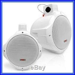 Waterproof Marine Wakeboard Tower Speakers 6.5In Dual Subwoofer Speaker Set & 1