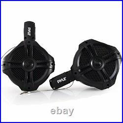 Waterproof Marine Wakeboard Tower Speakers 6.5 Dual Subwoofer Speaker Set