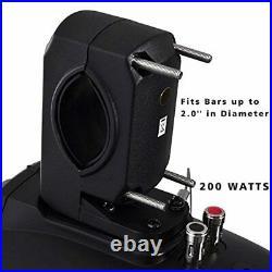 Waterproof Marine Wakeboard Tower Speakers 6.5 Dual Subwoofer Speaker Set a