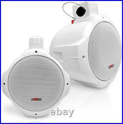 Waterproof Marine Wakeboard Tower Speakers 6.5in Dual Subwoofer Speaker Set an