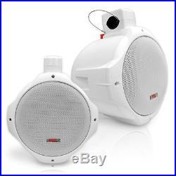 Waterproof Marine Wakeboard Tower Speakers 8in Dual Subwoofer Speaker Set a