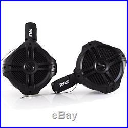 Waterproof Marine Wakeboard Tower Speakers 8in Dual Subwoofer Speaker Set and