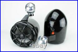 Wet Sounds 6.5 Wakeboard Tower Speakers Black NEW