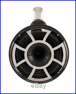 Wet Sounds Revolution Series 10 inch HLCD Wakeboard Tower Speakers Black with