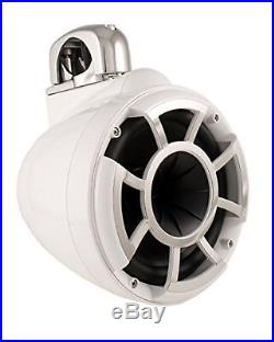 Wet Sounds Revolution Series 10 inch HLCD Wakeboard Tower Speakers White with